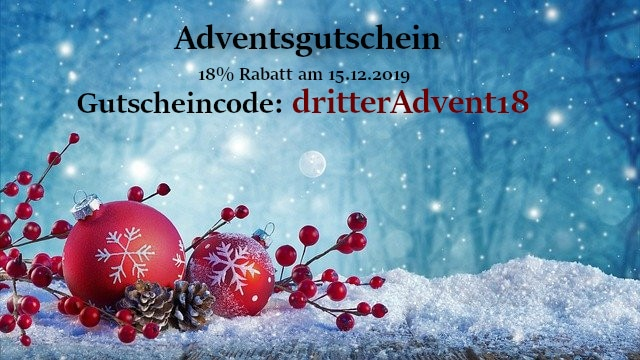 Adventsgutschein